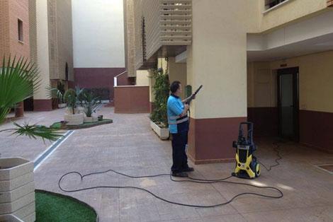 limpieza de areas comunes