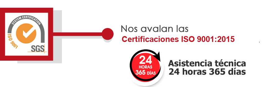 Certificados ISO 9001:2015